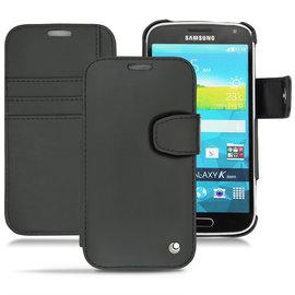 NOREVE Samsung Galaxy K zoom 側掀式支架皮套 保護殼 保護套 手工訂製 法國頂級手機皮套 可放信用卡 推薦