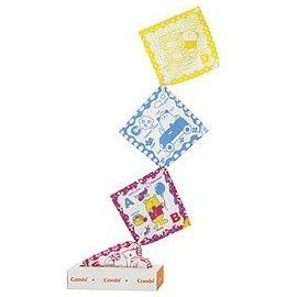 Combi 抽抽樂面紙盒玩具   *培養&滿足寶寶對事物的好奇心!!*