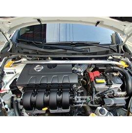 阿宏改裝部品 E.SPRING  BIG TIIDA C12 鋁合金 引擎室拉桿 附 加長