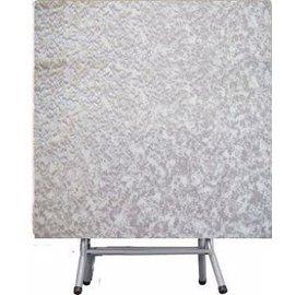 3X3尺折合式A型餐桌 ^(灰白^)