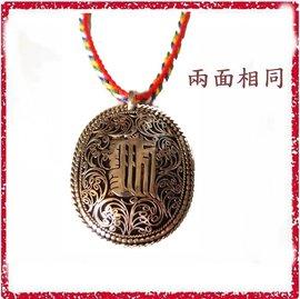 [唐古拉佛教文物批發] 尼泊爾手工拉花時輪金剛項鍊