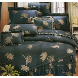 ~GiGi居家寢飾 館~^~台製 寢飾系列^~可訂製精梳棉 純棉床包被套組 加大6^~6.