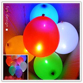 【winshop】B2168 LED燈氣球/發光氣球12吋橡膠氣球/氣氛小夜燈/情人節慶生演唱會晚會婚禮夜拍路跑