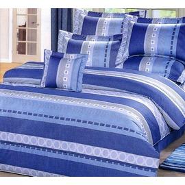 ~GiGi居家寢飾 館~~台製 寢飾系列~可訂製精梳棉 純棉床罩組 加大6~6.2尺~T0