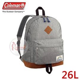 探險家戶外用品㊣CM-B414JMOGA 美國Coleman C-DAY 26L (天空灰) 旅行 登山 雙肩背包 運動背包 休閒背包