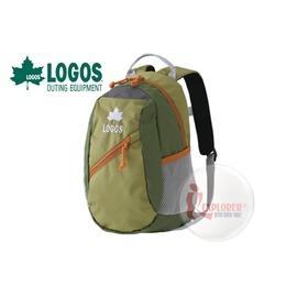 探險家戶外用品㊣NO.88250130 日本品牌LOGOS 兒童背包8L (綠) 書包 運動背包郊遊雙肩背包