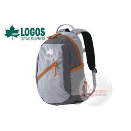 探險家戶外用品㊣NO.88250132 日本品牌LOGOS 兒童背包8L (灰) 書包 運動背包郊遊雙肩背包