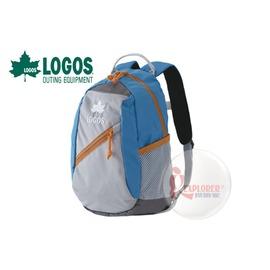 探險家戶外用品㊣NO.88250133 日本品牌LOGOS 兒童背包8L (藍) 書包 運動背包郊遊雙肩背包