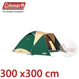 加購自由配㊣CM-17860 美國Coleman 4-6人透氣圓頂露營300帳IV 前延式透氣蒙古包 四季帳 300*300