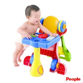 【紫貝殼】『PEOPLE25』日本 People 騎乘系列-第二代5合1變身學步車.幼兒玩具.8個月以上.親子討論區熱烈反應