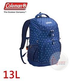 探險家戶外用品㊣CM-B340JMOND 美國Coleman KID'SLAND 兒童背包-13L (海軍圓) 小學生書包 雙肩背包 郊遊背包