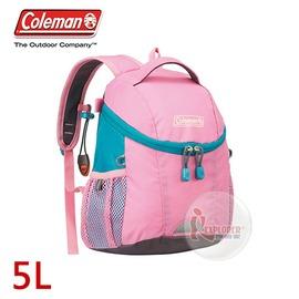 探險家戶外用品㊣CM-B345JMOPK 美國Coleman PETIT 兒童背包-5L (粉紅)幼稚園書包 小學生書包 雙肩背包 郊遊