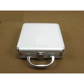 德州撲克牌籌碼箱籌碼盒手拎式鋁合金包邊能裝100片籌碼