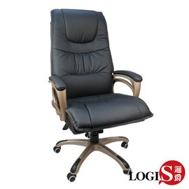 邏爵^~ LOG~2876 歐提斯雙層皮墊主管椅 辦公椅 電腦椅 全皮椅 氣壓升降 後仰固