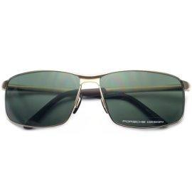 正品保時捷太陽鏡 複古純鈦 明星款潮男墨鏡眼鏡8541 C
