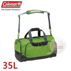 探險家戶外用品㊣CM-D401JMOGR 美國Coleman BOSTON旅行袋-35L (草原綠) 行李袋 單肩背包袋 旅遊袋 手提袋