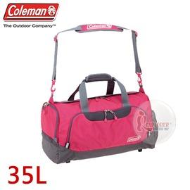 探險家戶外用品㊣CM-D401JMOPK 美國Coleman BOSTON旅行袋-35L (粉紅) 行李袋 單肩背包袋 旅遊袋 手提袋