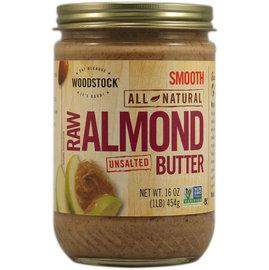 美國Woodstock Farms 杏仁醬^(無鹽^)Raw Almond Butter