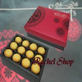 Rachel Shop芮秋菓子禮坊~12入鳳梨酥 紅貝拉~中秋節 春節過年 下午茶 伴手禮