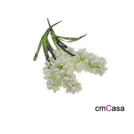 cmCasa  ^~3095^~簡約自然佈置風格 人造純白風信子 可 賣場花瓶裝飾 擺飾