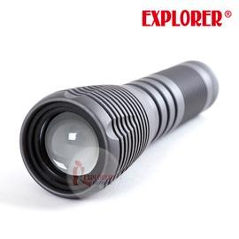 探險家戶外用品㊣L33 皇家騎士 CREE-T6 LED 手電筒 戰術手電筒 18650鋰電 680流明 台灣製