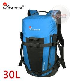 探險家戶外用品㊣mpa0508.lb 瑪丁圖 mountaintop 透氣個性登山包-30L(淺藍) 登山背包 健行背包 戶外休閒背包