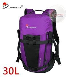 探險家戶外用品㊣mpa0508.pl 瑪丁圖 mountaintop 透氣個性登山包-30L(紫) 登山背包 健行背包 戶外休閒背包