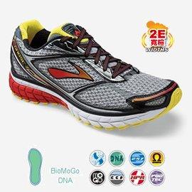 美國Brooks 貨^~Ghost 7男款2E楦頭^~避震型慢跑鞋BK1101682E95