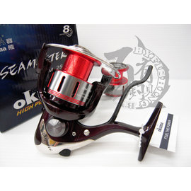 ◎百有釣具◎OKUMA 寶熊 SEA MASTER 漁師 手煞浮游磯釣捲線器 SM-2500型~附3000型預備線輪再送母線