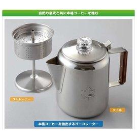~大山野營~中和  LOGOS 81210300 不鏽鋼咖啡壺 6杯份 咖啡壺 燒水壺 茶