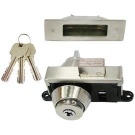 FOLO玻璃門鎖/地鎖-單頭★玻璃門專用