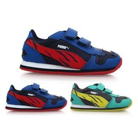 PUMA 男兒童慢跑鞋(童鞋 運動鞋【02013947】≡排汗專家≡
