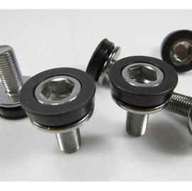 自行車/單車/腳踏車 六角方孔中軸/防水螺絲/密封中軸齒輪盤螺絲/曲柄螺絲