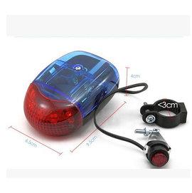 [電子喇叭] 自行車/單車/腳踏車 電子鈴鐺 /8音喇叭/安全燈/前燈 (燈+喇叭)