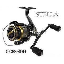 ◎百有釣具◎SHIMANO STELLA C3000SDH 雙把頂級捲線器 ~ 軟絲路亞專用 送PE線
