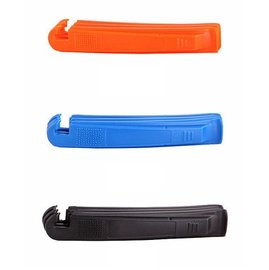 自行車/單車/腳踏車 三合一 補胎/拆胎/撬胎棒/扒胎 工具 (橘黑藍一組)