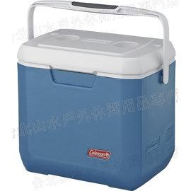 ^~ Coleman ^~ 26L Xtreme 冷冽藍手提冰箱 冰桶 CM~3088J