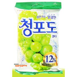 【吉嘉食品】樂天LOTTE 青葡萄糖 1包119公克65元,韓國進口,另有辣炒年糕餅乾{8801062332212:1}