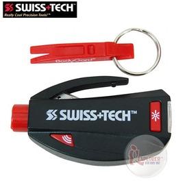 探險家戶外用品㊣d-mxst81010 美國SWISS+TECH 車用3功能求生工具組 鑰匙圈 工具刀 瑞士刀 萬用刀