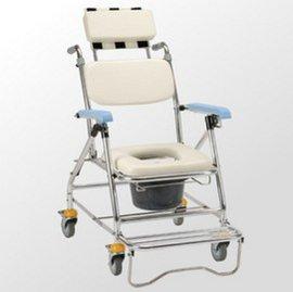 ^~真代 館^~ JCS~207 鋁合金背可調收合洗澡便器椅