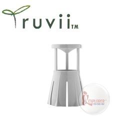 探險家戶外用品㊣SD10011 Truvii 手電筒光罩 (白) 旅行光罩 適用20-40mm頭徑 可轉成露營燈/桌燈/釣魚燈