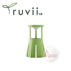 探險家戶外用品㊣SD10014 Truvii 手電筒光罩 (蘋果綠) 旅行光罩 適用20-40mm頭徑 可轉成露營燈/桌燈/釣魚燈