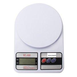 【Q禮品】B2187 3公斤電子秤-白/液晶螢幕電子式3公斤電子秤/料理秤/廚房秤/體重計