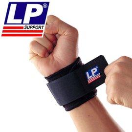 ^~LP美國 護具^~單片式腕部調整護套^(黑^)753
