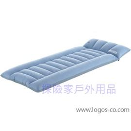 探險家戶外用品㊣NO.73802801 日本品牌LOGOS 單人加寬加厚車中床(吹氣款充氣睡墊)173*67*15cm