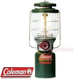 探險家戶外用品㊣CM-8651J美國Coleman 新北極星瓦斯燈(綠) 高山瓦斯 電子點火 露營燈 露營 野營