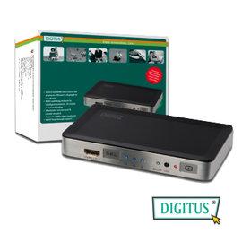 曜兆DIGITUS HDMI ~DS-44300三入一出切換器(付遙控器)