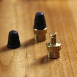 (key)自行車/單車/機車/汽車 氣門芯扳手/氣門蓋/胎帽鑰匙兩用型 工具 [CBR-00004]