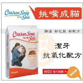 BABY貓舖 美國Chicken Soup~雞湯•挑嘴成貓•潔牙抗氧化配方•15磅~ 21