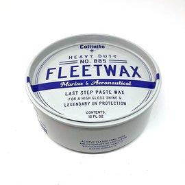 Collinite Paste Fleetwax # 885 12oz.  柯林遊艇蠟 ~